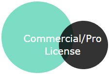 Commercial/Pro License