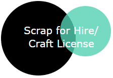 Scrap for Hire/ Craft License