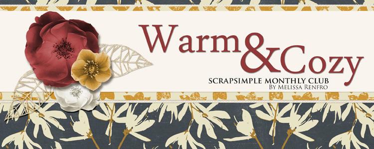 ScrapSimple Club Warm & Cozy