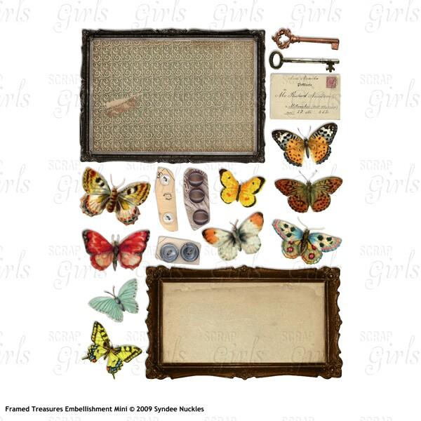 Framed Treasures Embellishment Mini